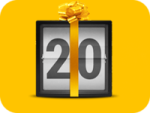 20 бесплатных опционов