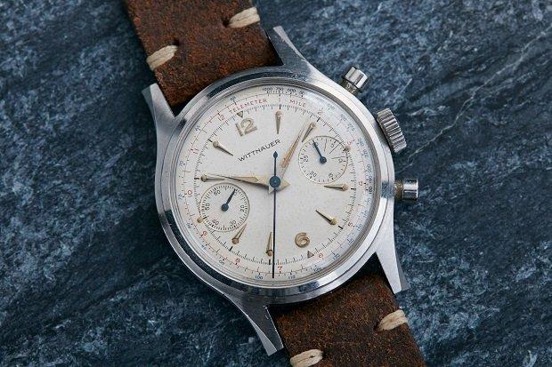 1960  Wittnauer Chronograph