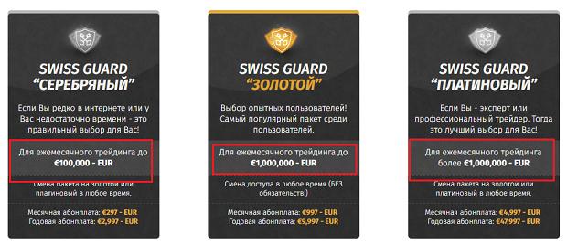 Swissguard обещает вам заработать 100,000$