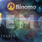Демо-счет брокера Binomo