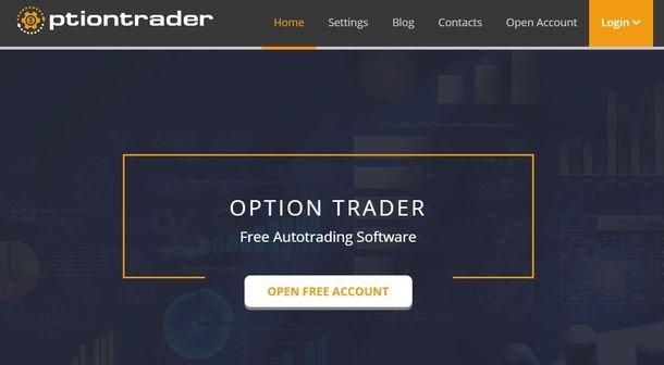 Робот для торговли бинарными опционами OptionTrader