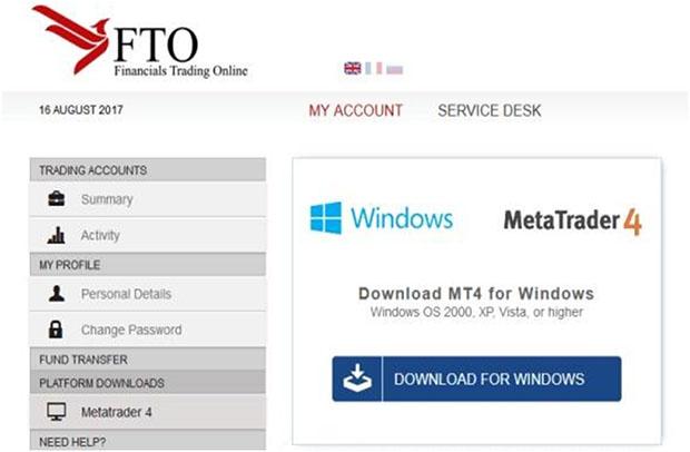 FTO Capital - торговые платформы для трейдеров