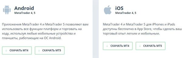 weltrade.ru мобильное приложение