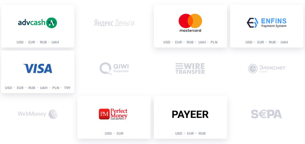 ЭКСМО платежные системы